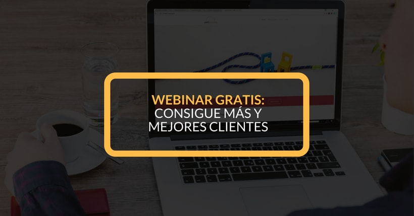 Webinar gratis: #darelpaso ... 3 estrategias para conseguir más clientes 1