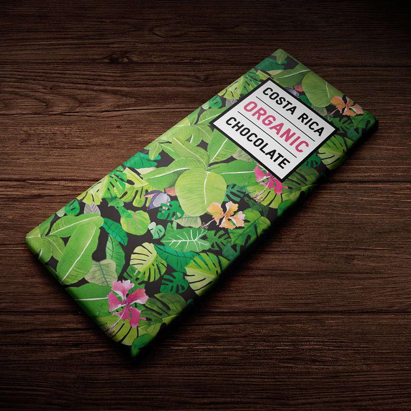 Packaging Costa Rica Organic Chocolate 1