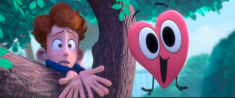In a heartbeat, una historia de amor animada 7