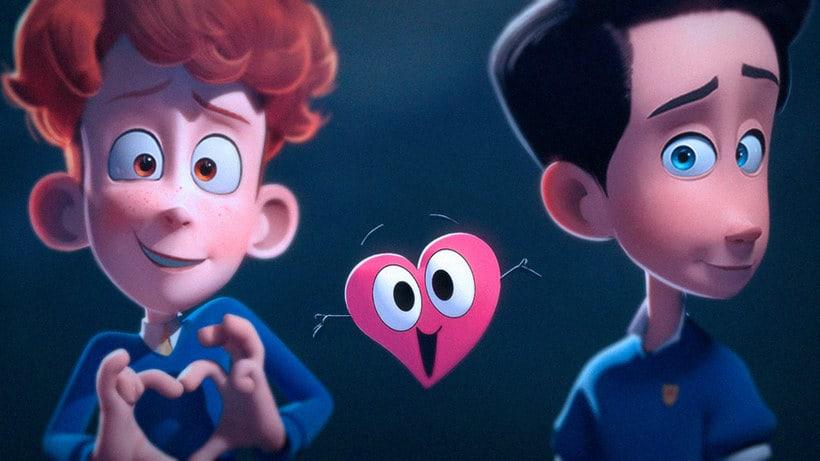 In a heartbeat, una historia de amor animada 5