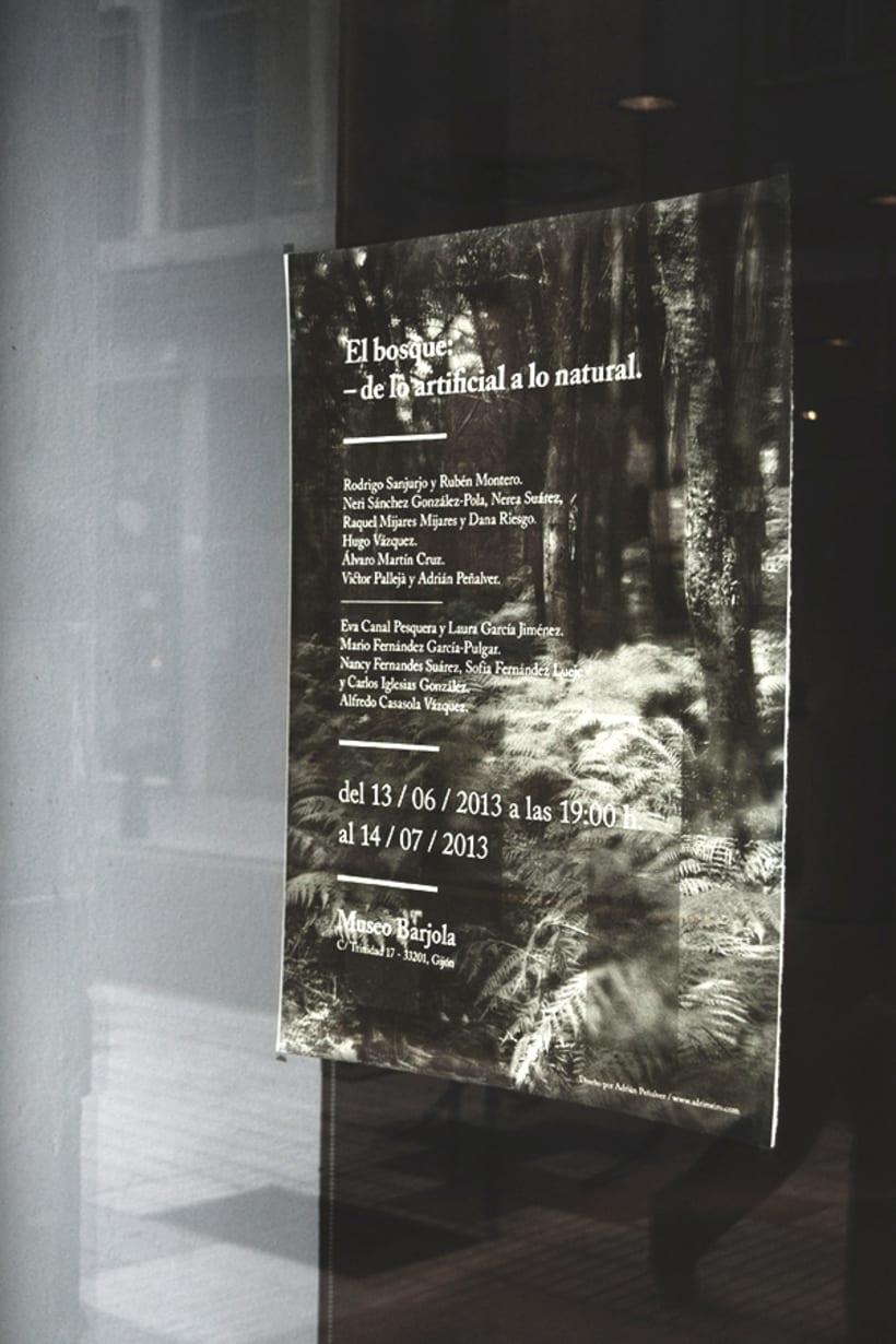 El bosque: de lo artificial a lo natural. -1