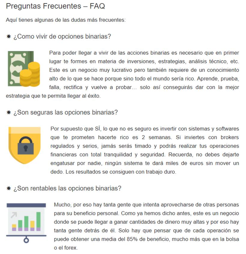 Nueva web para una empresa de inversiones 4