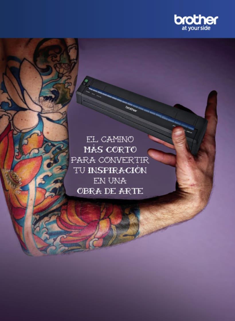 Brother - Promoción tatuadores -1