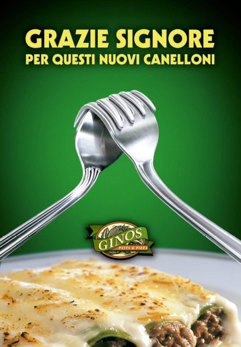 GINOS (Restaurantes italianos) 0