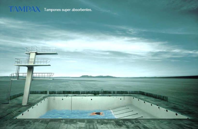 Idea creativa y Proyecto campaña Tampax 1