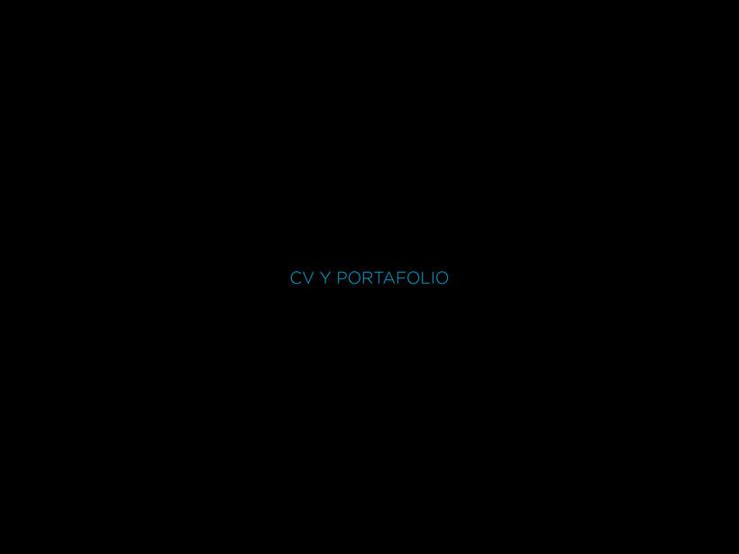 CV y Portafolio -1