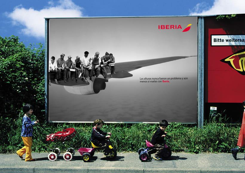 Idea creativa y nueva campaña para Iberia 0