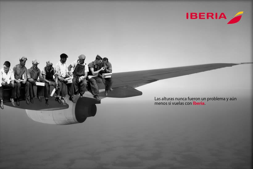 Idea creativa y nueva campaña para Iberia 1