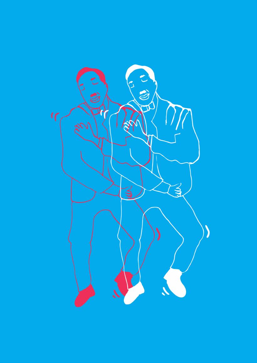 Proyecto de experimentación de técnica ilustración para creación de imagen de marca. 1
