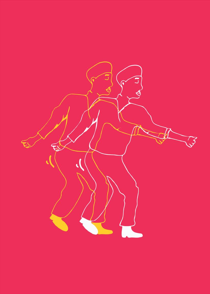 Proyecto de experimentación de técnica ilustración para creación de imagen de marca. 2