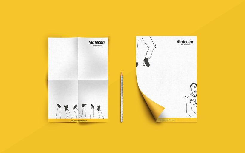 Proyecto de experimentación de técnica ilustración para creación de imagen de marca. 5