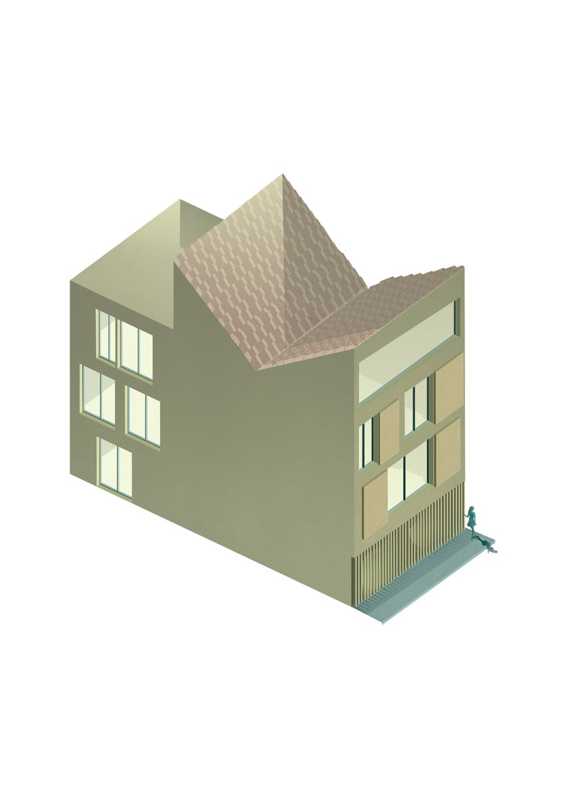 Conjunto de viviendas en el barrio de Velluters ( Valencia) 1
