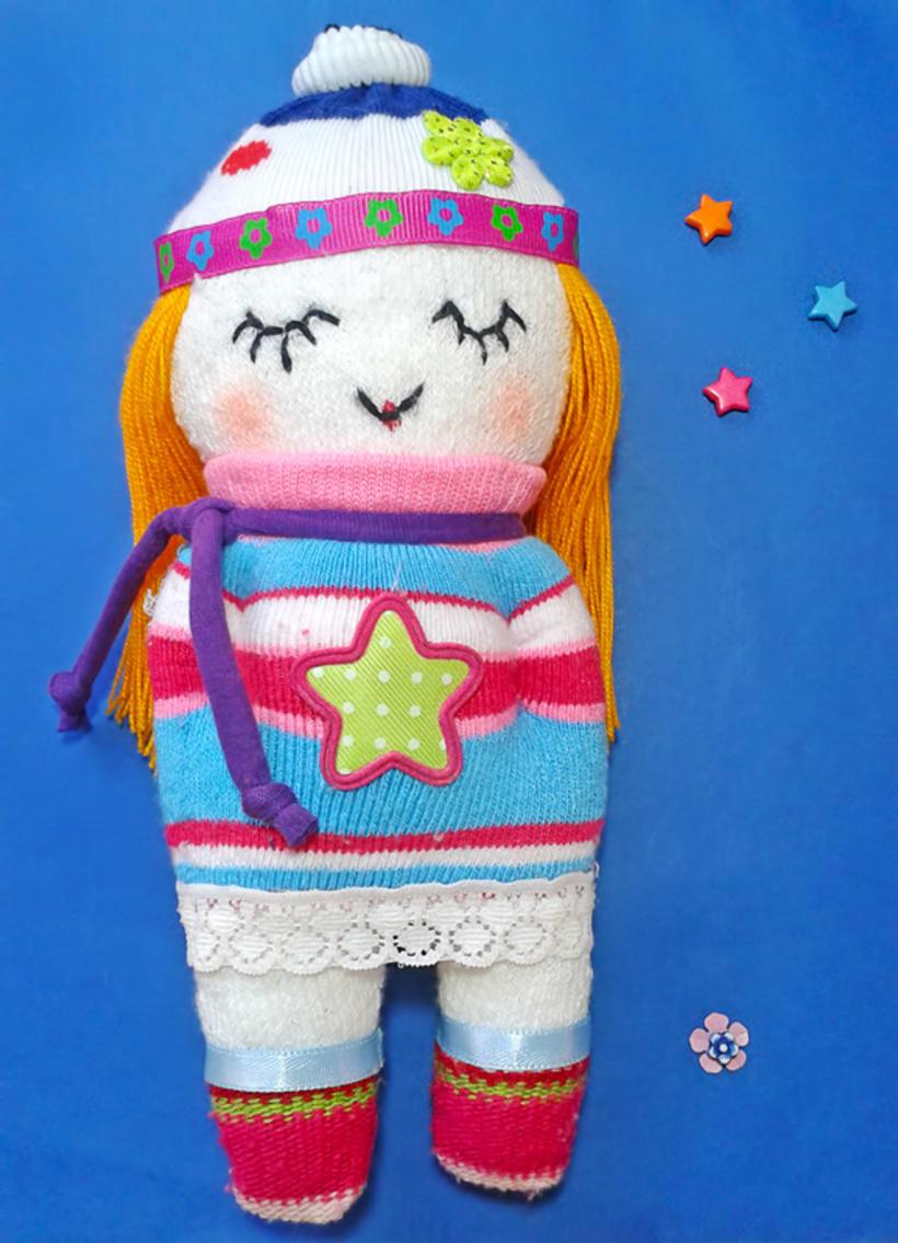 """Mi proyecto: """"Sock Toys"""" Muñecos de  guantes y medias. 3"""