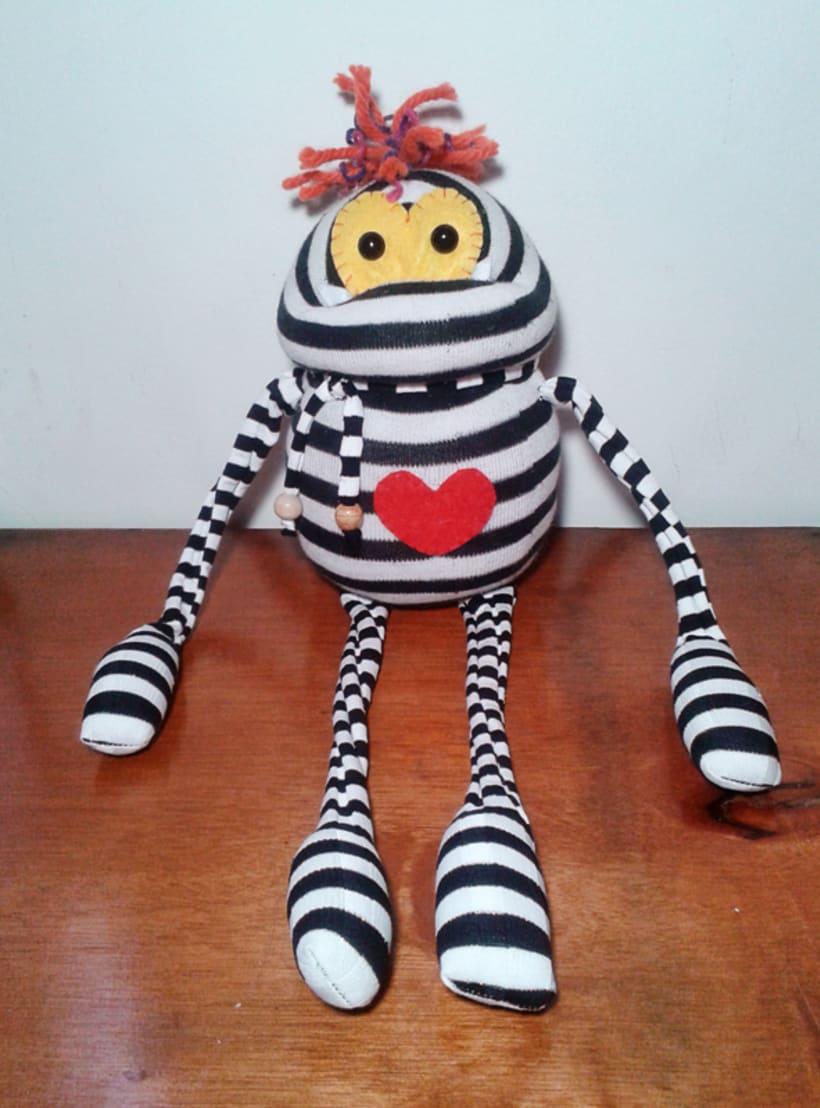 """Mi proyecto: """"Sock Toys"""" Muñecos de  guantes y medias. 4"""