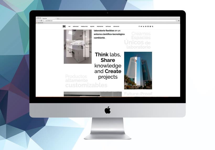 Diseño web - HIBLab -1