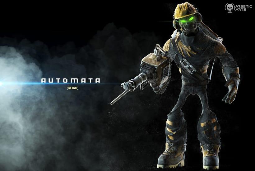 Automata Release: GEIKO -1