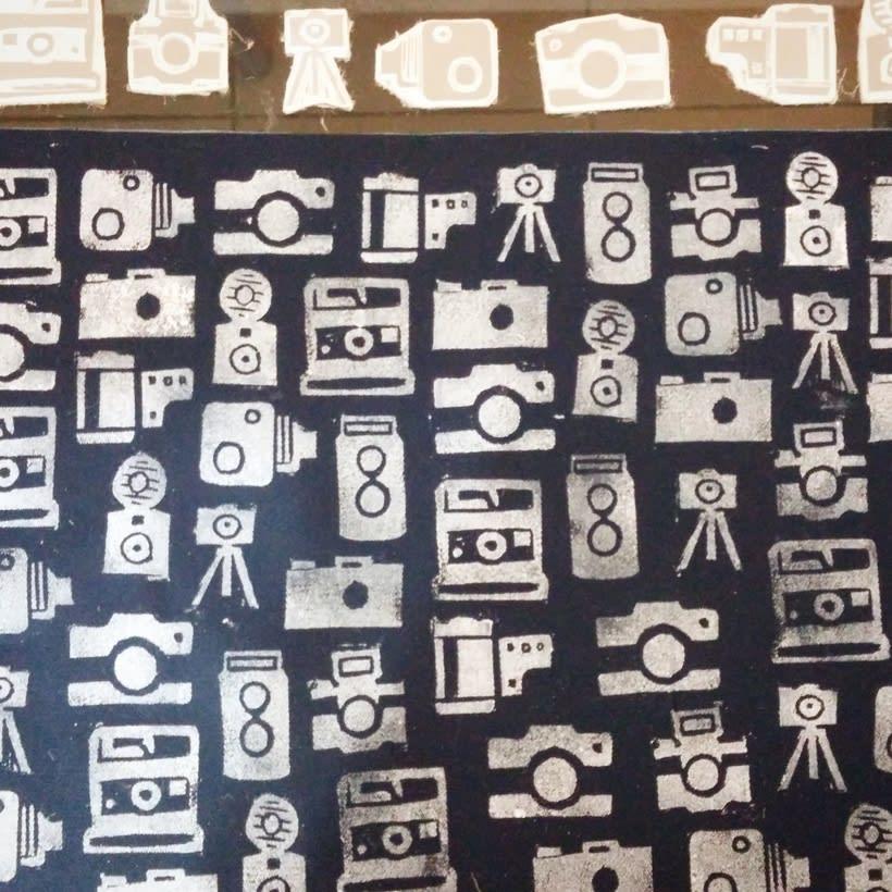 Cámaras fotográficas para estampación en tela - Producto: Individuales 1