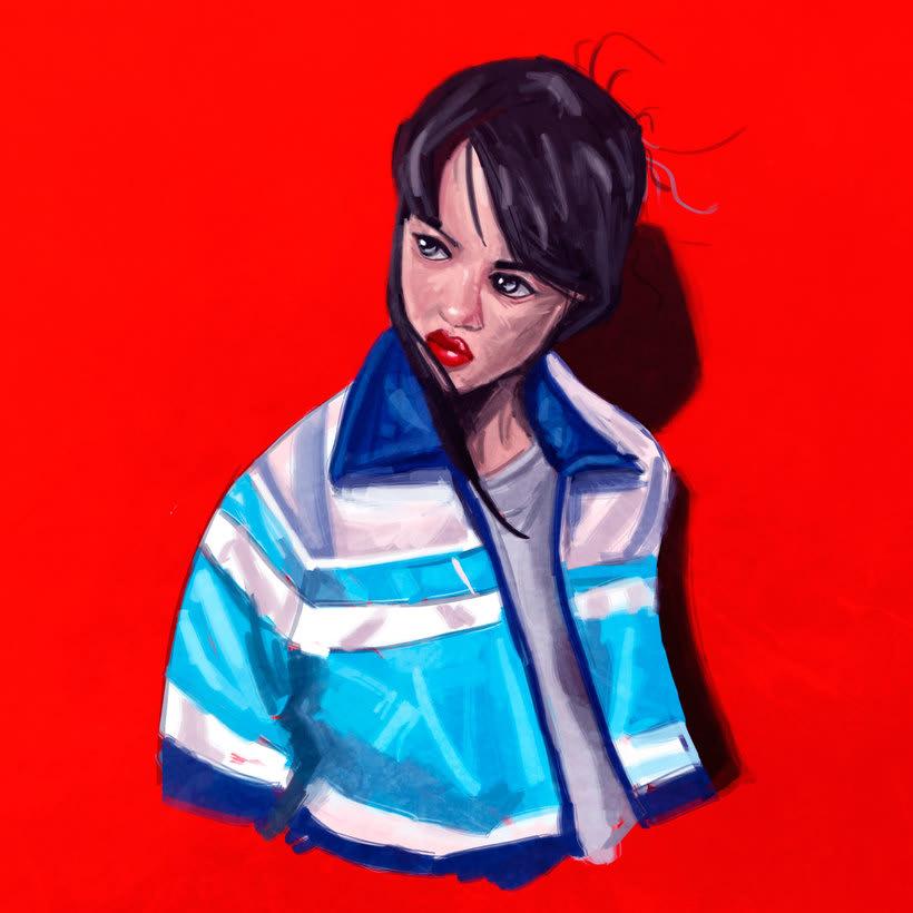 Mi Proyecto del curso: Pinceles y pixeles (Retrato Realista) 1