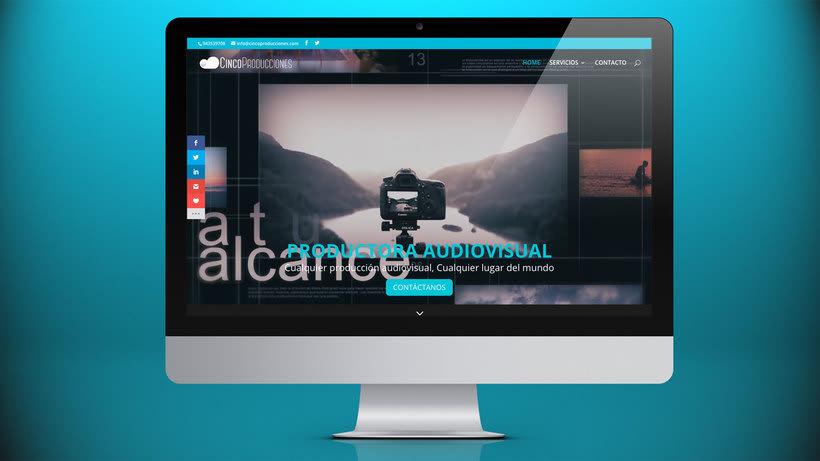 Web Cinco Producciones. Productora Audiovisual 3