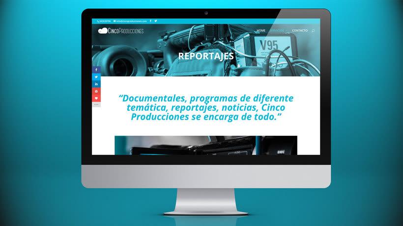 Web Cinco Producciones. Productora Audiovisual 10