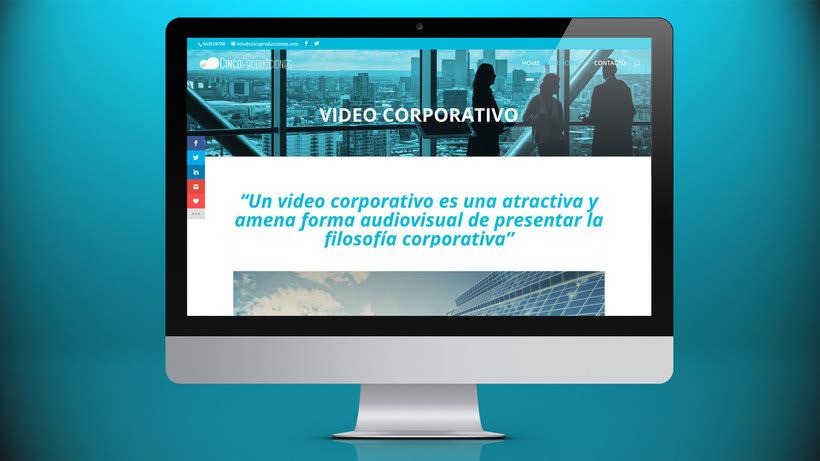 Web Cinco Producciones. Productora Audiovisual 12