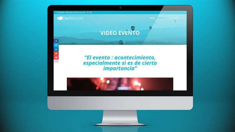 Web Cinco Producciones. Productora Audiovisual 13