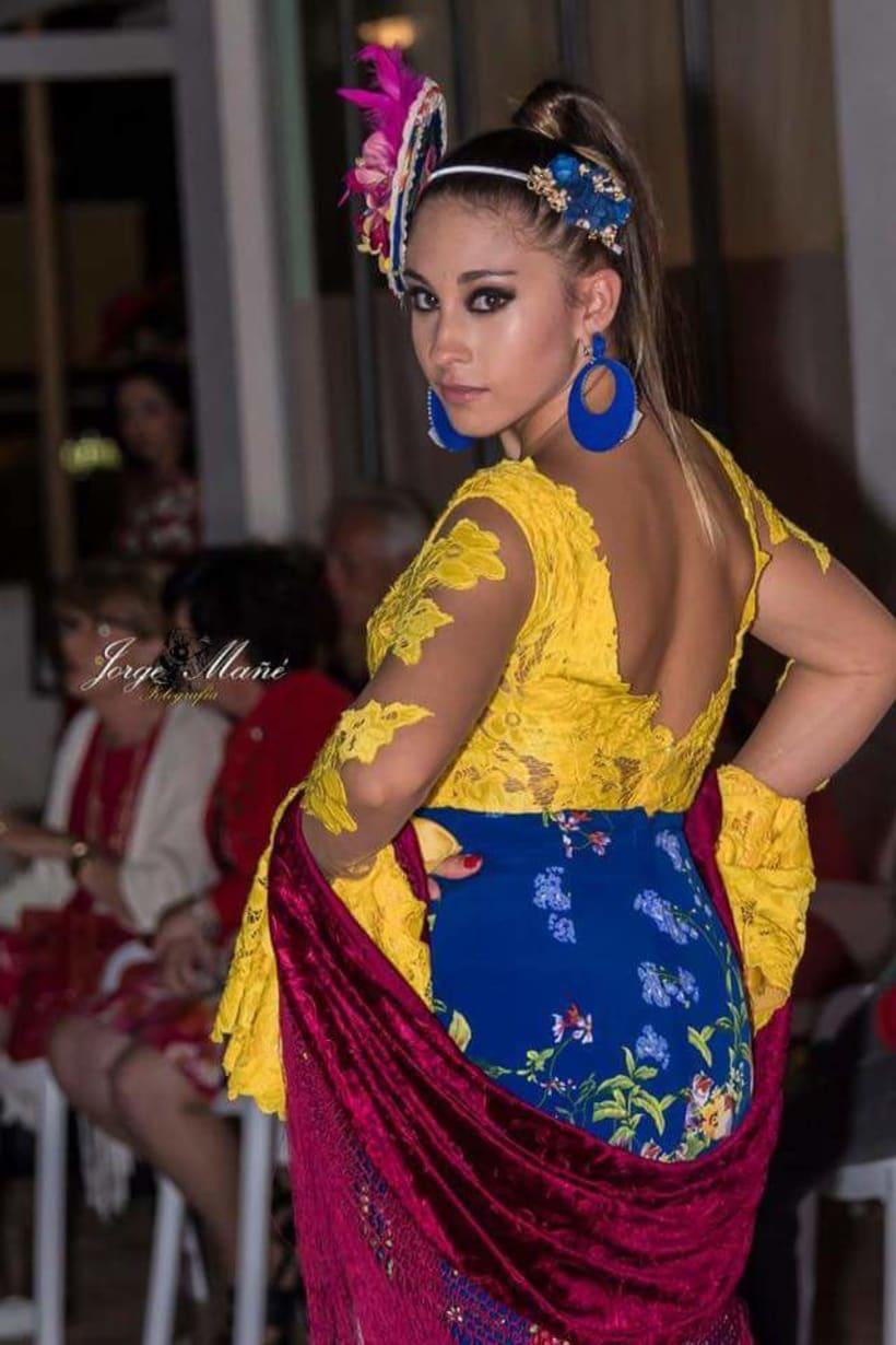 Colección SUEÑOS. Moda Flamenca para mujer. 2
