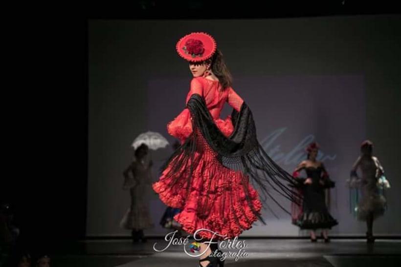 Colección SUEÑOS. Moda Flamenca para mujer. 3