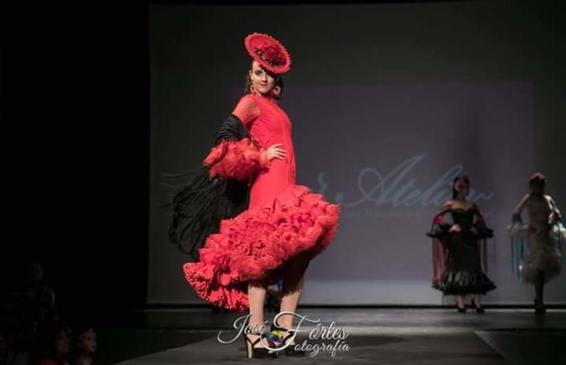 Colección SUEÑOS. Moda Flamenca para mujer. 4