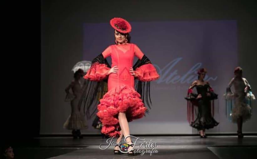 Colección SUEÑOS. Moda Flamenca para mujer. 5