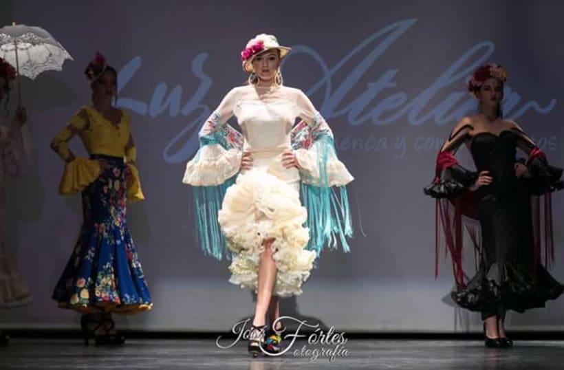 Colección SUEÑOS. Moda Flamenca para mujer. 6
