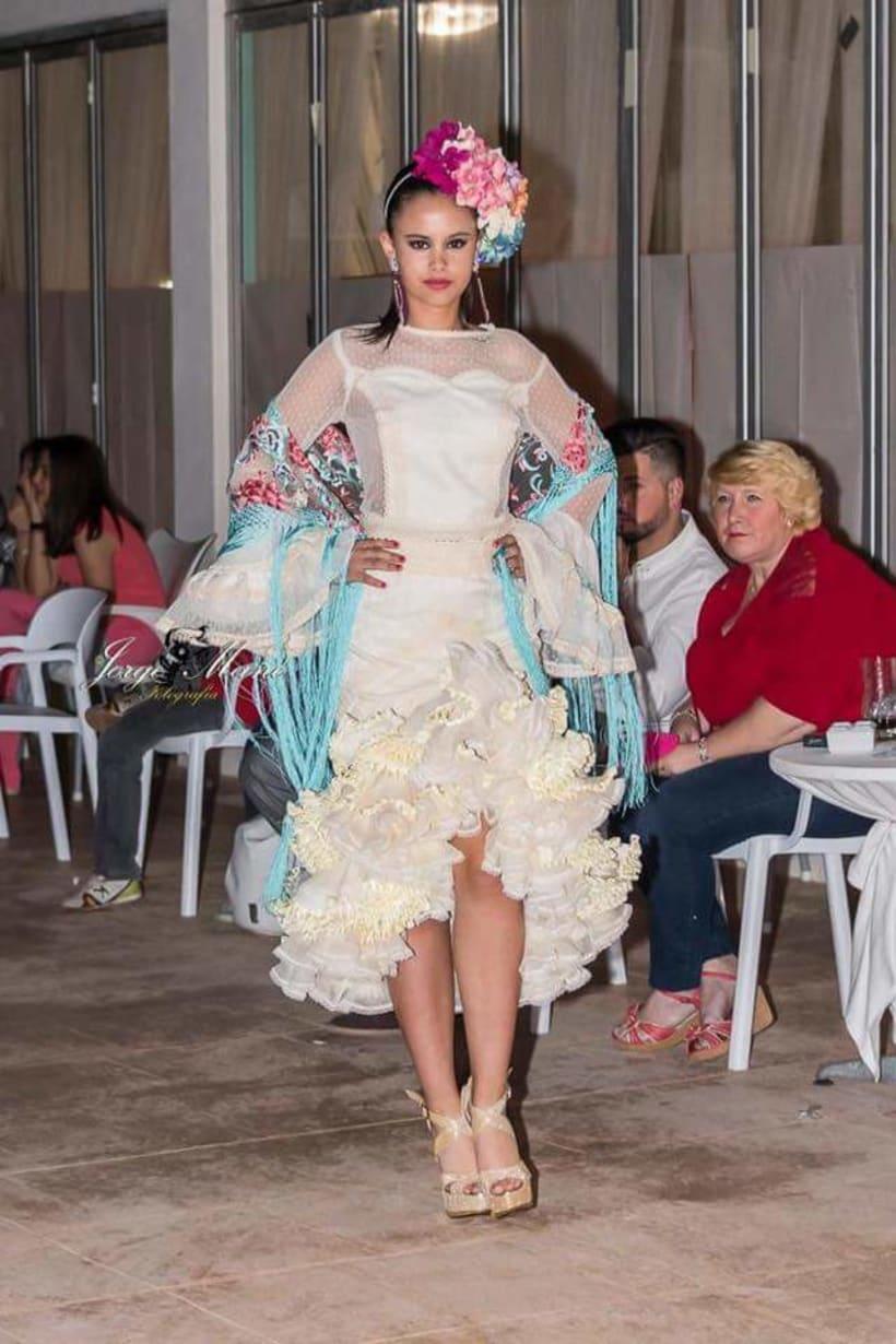 Colección SUEÑOS. Moda Flamenca para mujer. 8
