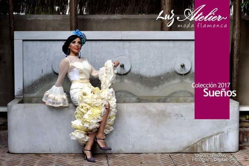 Colección SUEÑOS. Moda Flamenca para mujer. 9