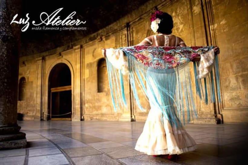Colección SUEÑOS. Moda Flamenca para mujer. 10