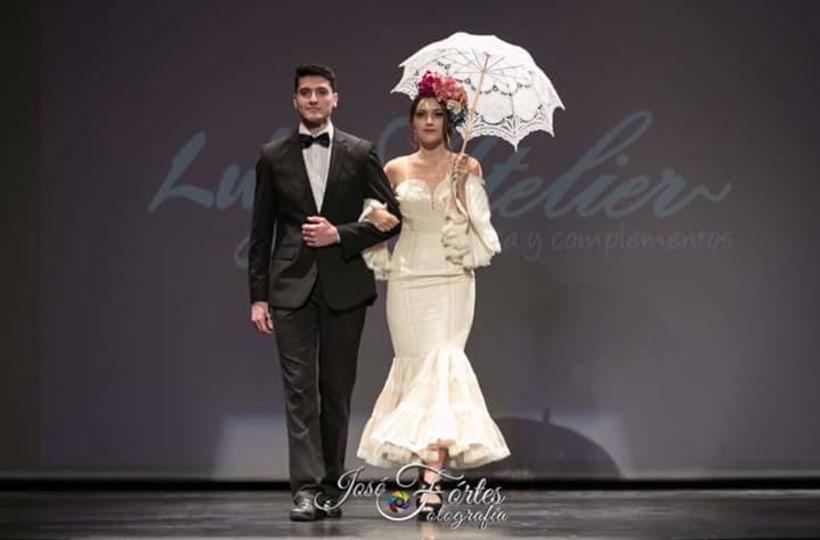Colección SUEÑOS. Moda Flamenca para mujer. 11