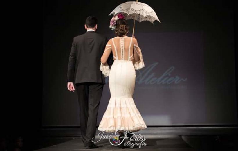 Colección SUEÑOS. Moda Flamenca para mujer. 12