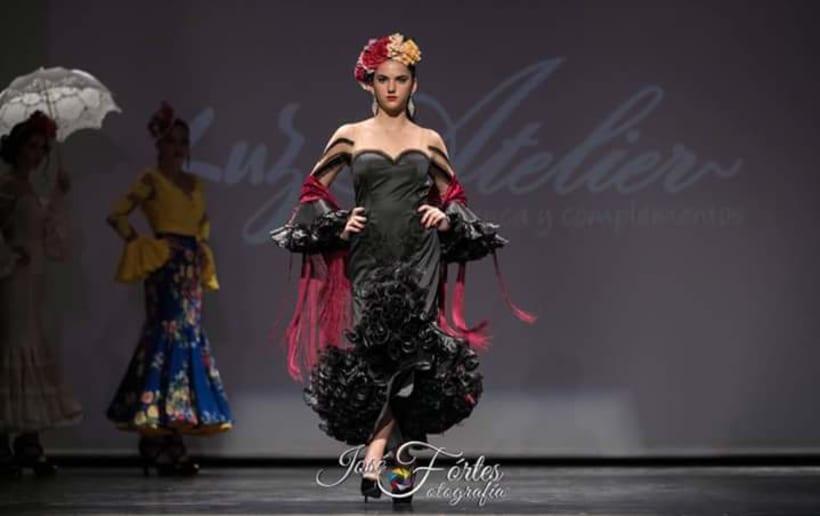 Colección SUEÑOS. Moda Flamenca para mujer. 13