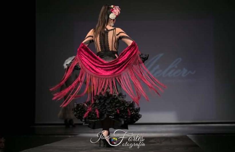 Colección SUEÑOS. Moda Flamenca para mujer. 14