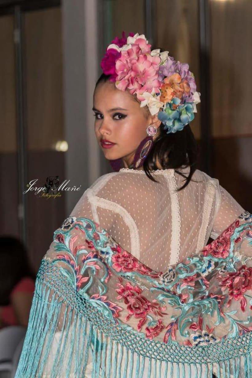 Colección APRIL. Complementos artesanales para mujer Flamenca. 0