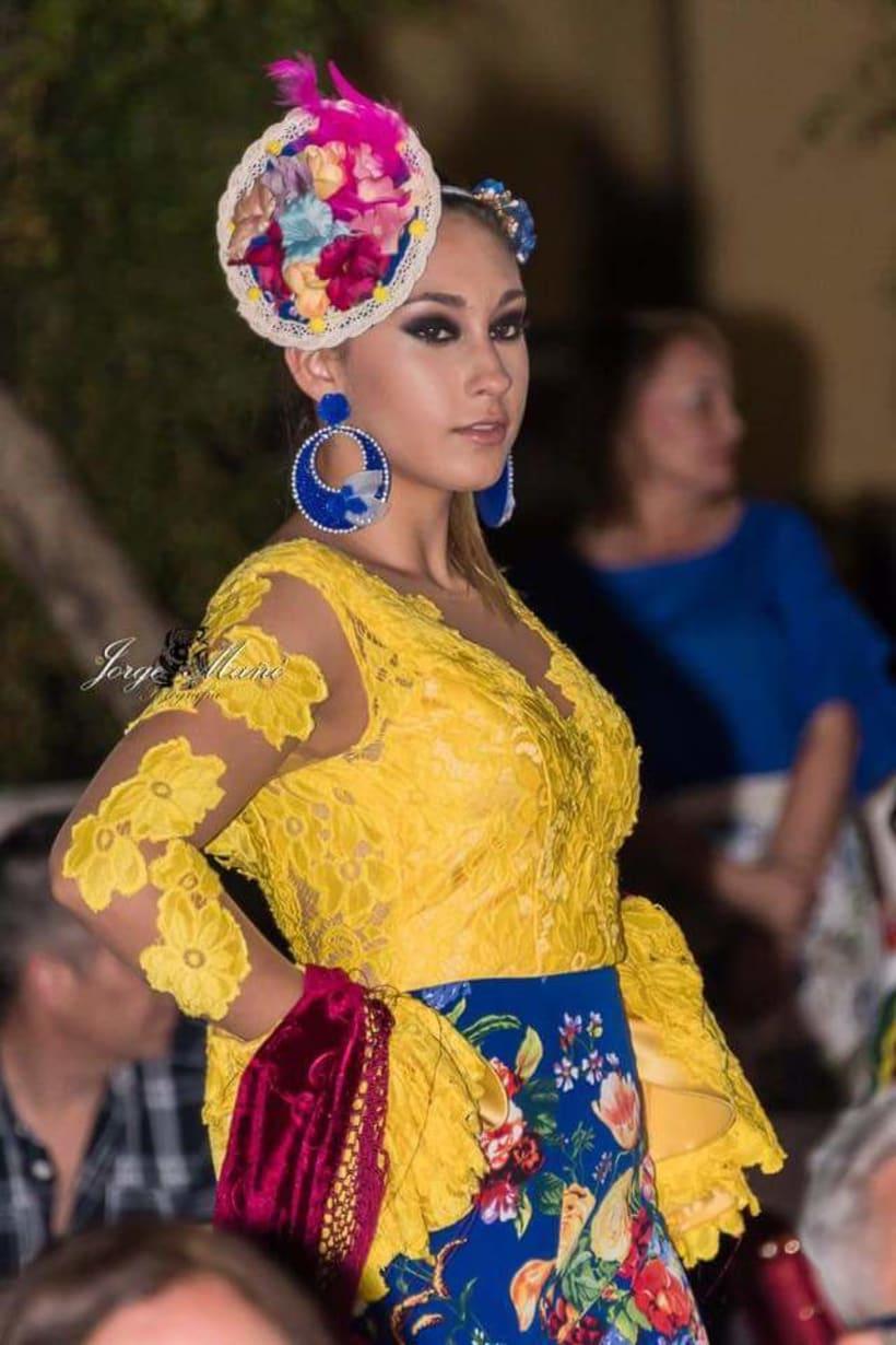 Colección APRIL. Complementos artesanales para mujer Flamenca. 1