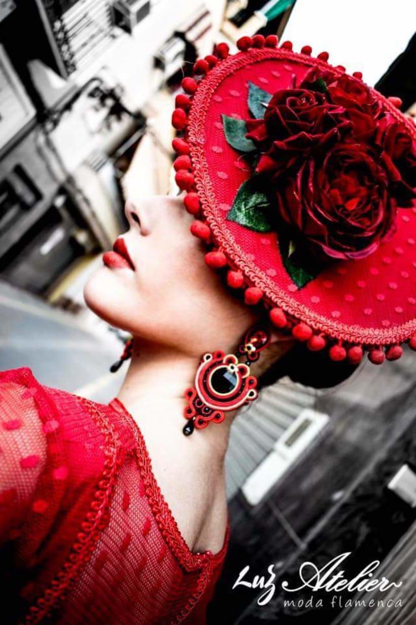 Colección APRIL. Complementos artesanales para mujer Flamenca. 2