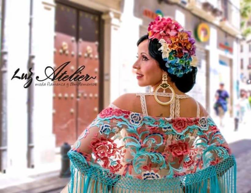 Colección APRIL. Complementos artesanales para mujer Flamenca. 5