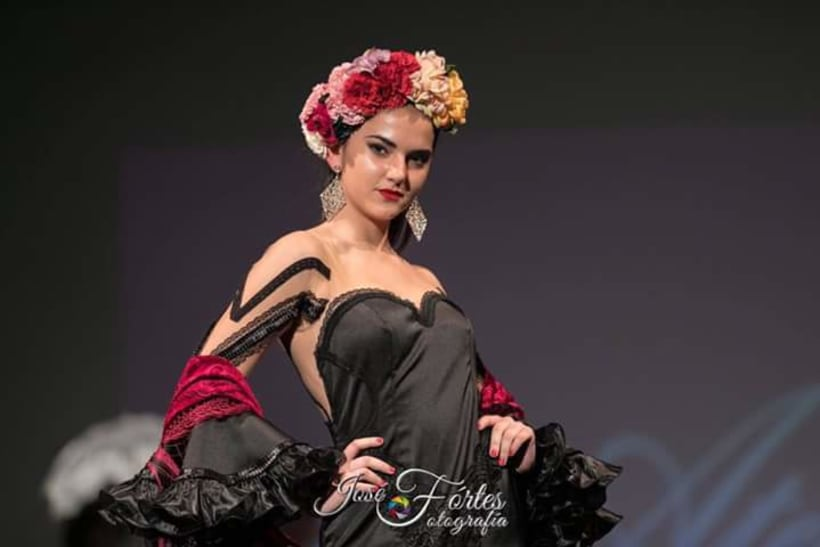 Colección APRIL. Complementos artesanales para mujer Flamenca. 6