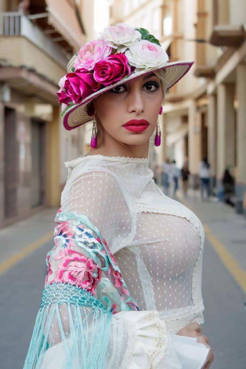 Colección APRIL. Complementos artesanales para mujer Flamenca. 7