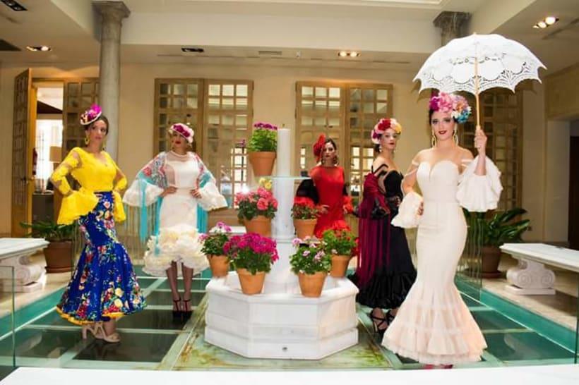 Colección SUEÑOS. Moda Flamenca para mujer. 15