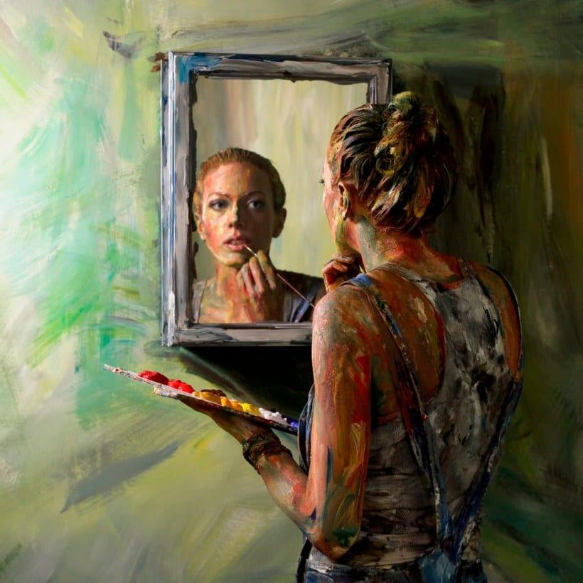Alexa Meade y su trampantojo artístico 3
