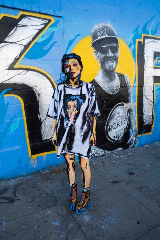 Alexa Meade y su trampantojo artístico 20