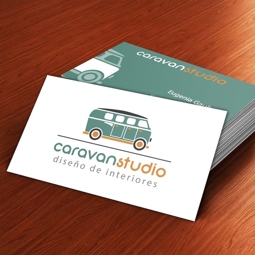 Tarjetas Personales para CARAVAN STUDIO 0