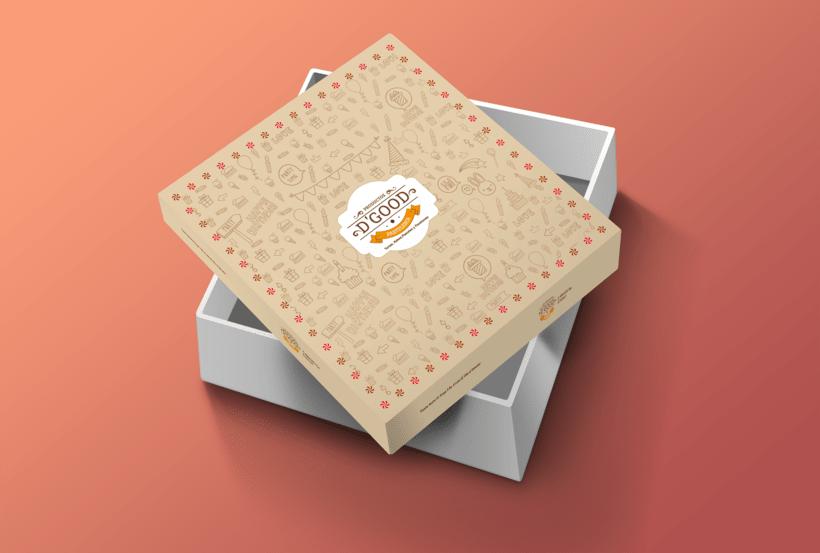 "Packaging ""Pasteleria D'Good"" -1"