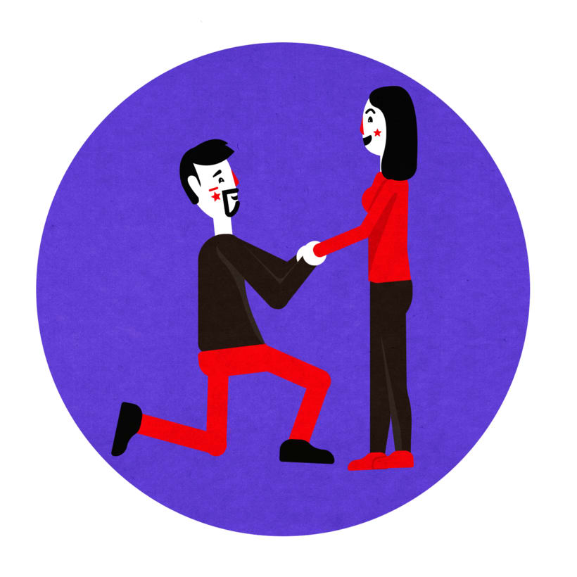 Ilustración Matrimonio 3